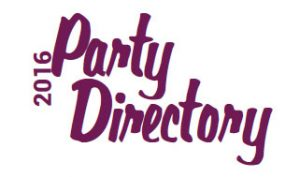 2016 Party Directory