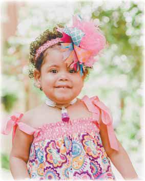 Kayleigh Hope Klatt at 2-years-old in June 2016.