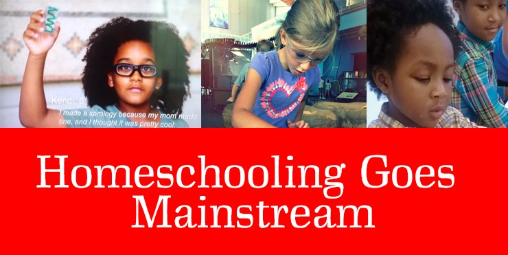 Homeschooling Goes Mainstream