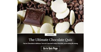 The Ultimate Chocolate Quiz