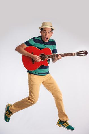 Latin Grammy winner 123 Andres at Zoo  Bop Kids' Music Festival