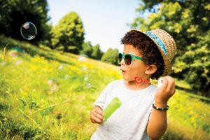 Eyeing Good Health on Summer's Sunny Days