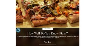 How Well Do You Know Pizza?