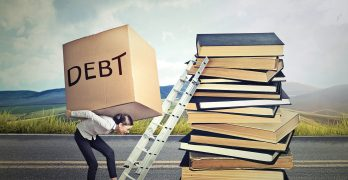 Buying a home, with debt