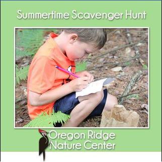 Summertime Scavenger Hunt
