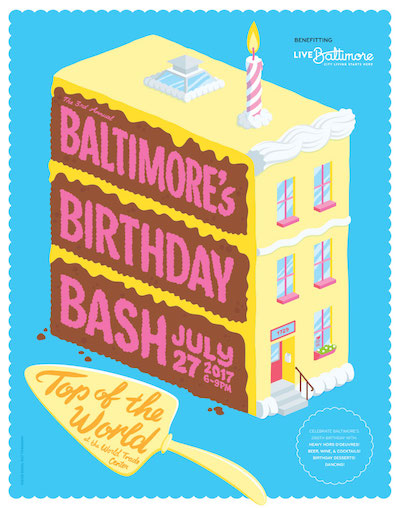 Baltimore's Birthday Bash - Benefiting Live Baltimore
