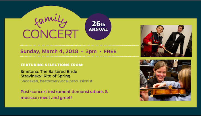 Hopkins Symphony 26th Annual Family Concert