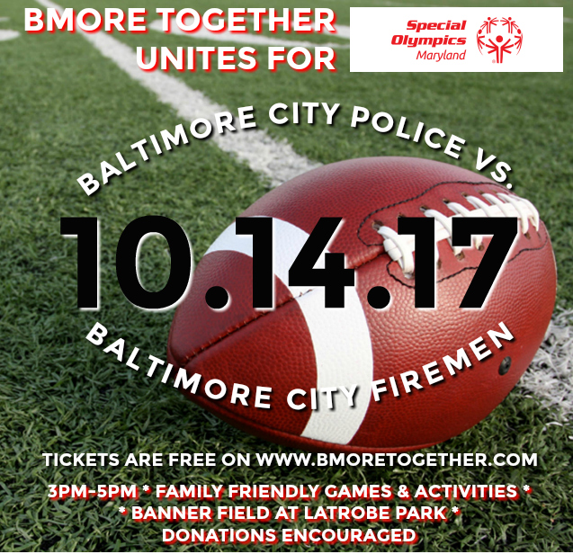 BMore Together Flag Football & Fall Festival to benefit Special Olympics of MD
