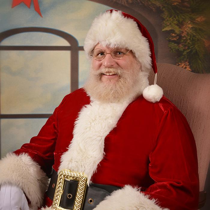 Baltimore Christmas Village Santa Photos