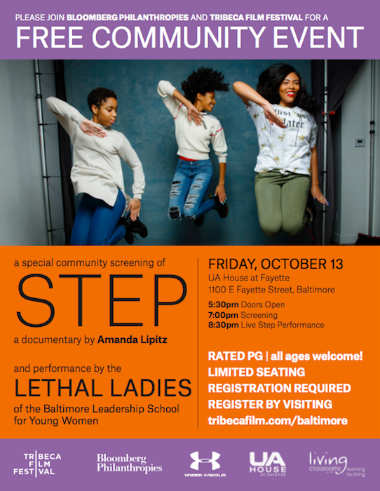 STEP Film Screening and Special Performance