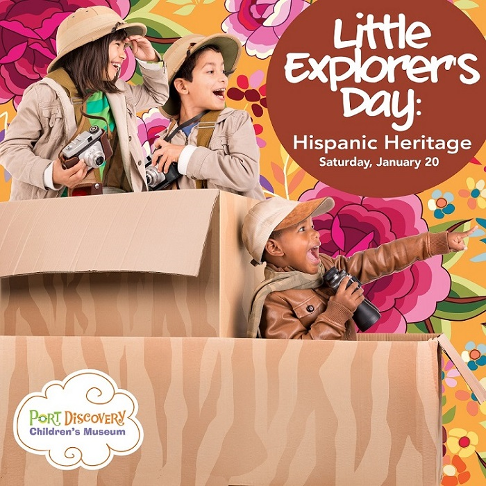 Little Explorer's Day: Explore Hispanic Heritage