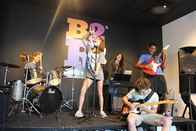 Grand Opening, Bach to Rock Music School/Fulton