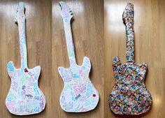 Art Project: My Blues Guitar