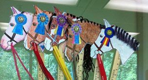 Horse Discovery Center Stick Horse Weekend