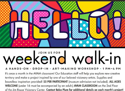 Weekend Walk-In: Bot Shop