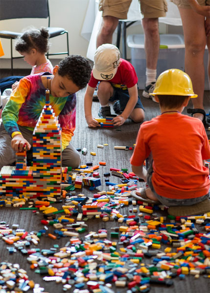 Family Workshop: LEGO© Build