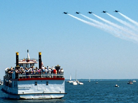 USAF THUNDERBIRDS CRUISES - MARYLAND FLEET WEEK