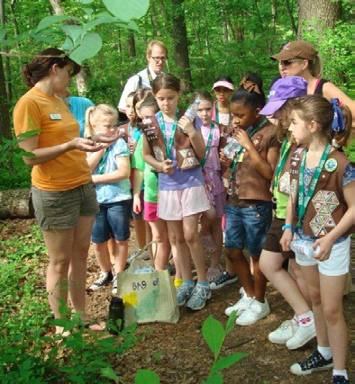 Scout Day at Irvine Nature Center