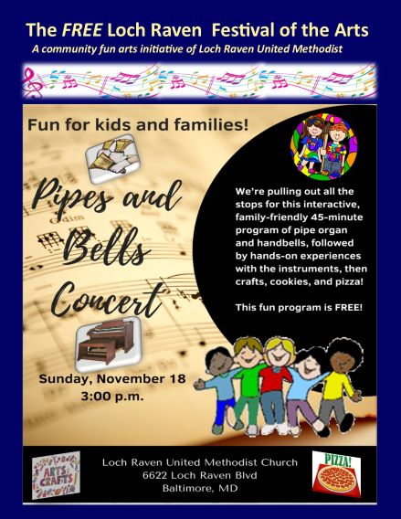 Free Pipes and Bells Concert for Children