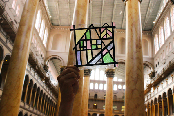 Family Afternoon: Capturing Light with Stained Glass