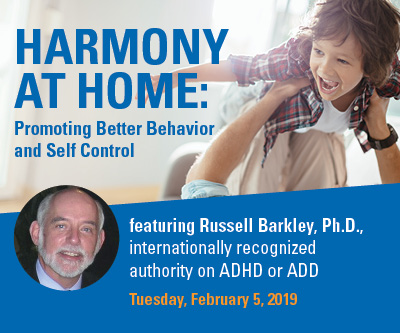 HARMONY AT HOME: PROMOTING BETTER BEHAVIOR AND SELF CONTROL