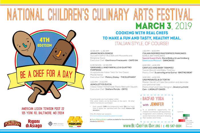 Be a Chef for a Day - National Children's Culinary Arts Festival