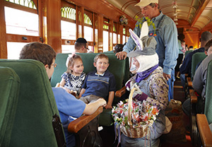 Easter Bunny Train