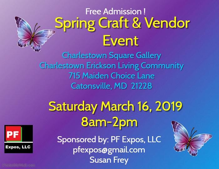 Spring Craft & Vendor Fair