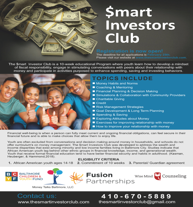$mart Investor Club (Youth Program)