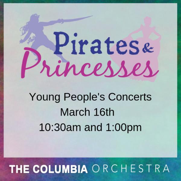 Columbia Orchestra: Pirates and Princesses