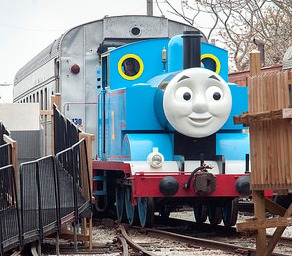 Day Out With Thomas the Tank Engine at the B&O Railroad Museum