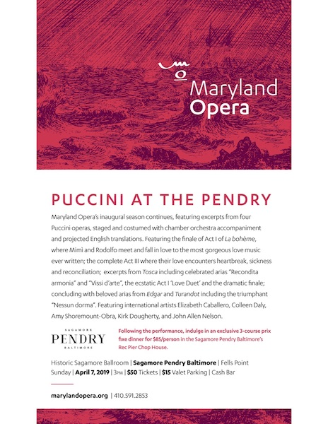 Puccini at the Pendry
