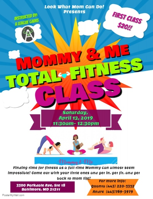 Mommy & Me Total Fitness Class