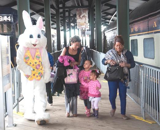 Easter Hoppinings at the B&O