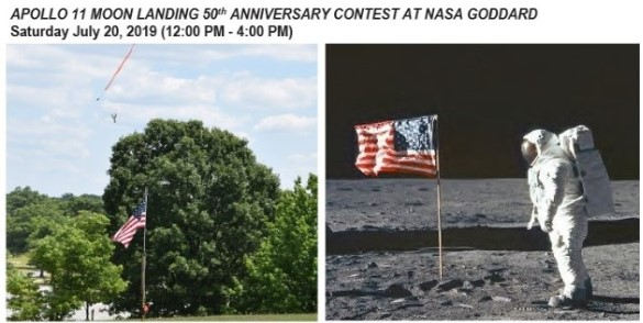 Apollo 11 Moon Landing 50th Anniversary Contest