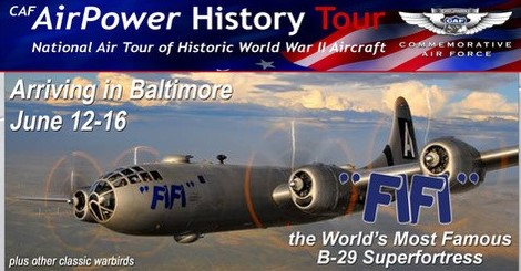 WWII Aicraft Visits Martin State Airport