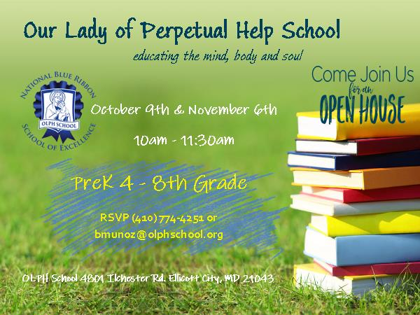 Our Lady of Perpetual Help School Open House