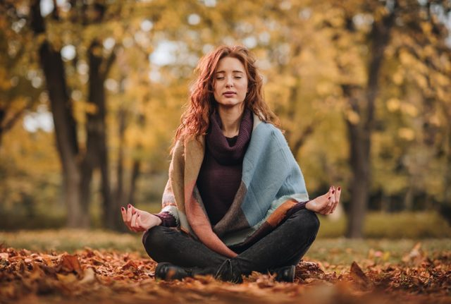 Self-compassion can be as simple as meditation.