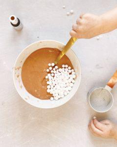 hot chocolate slime