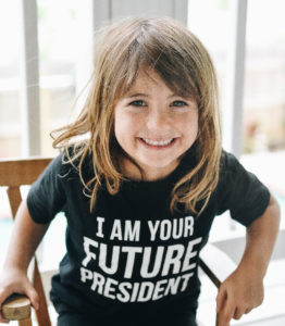 getting kids involved in elections
