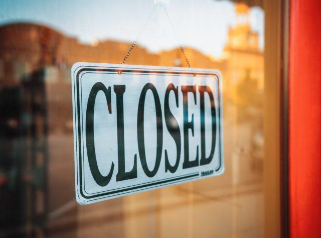 gyms, bars, restaurants closed
