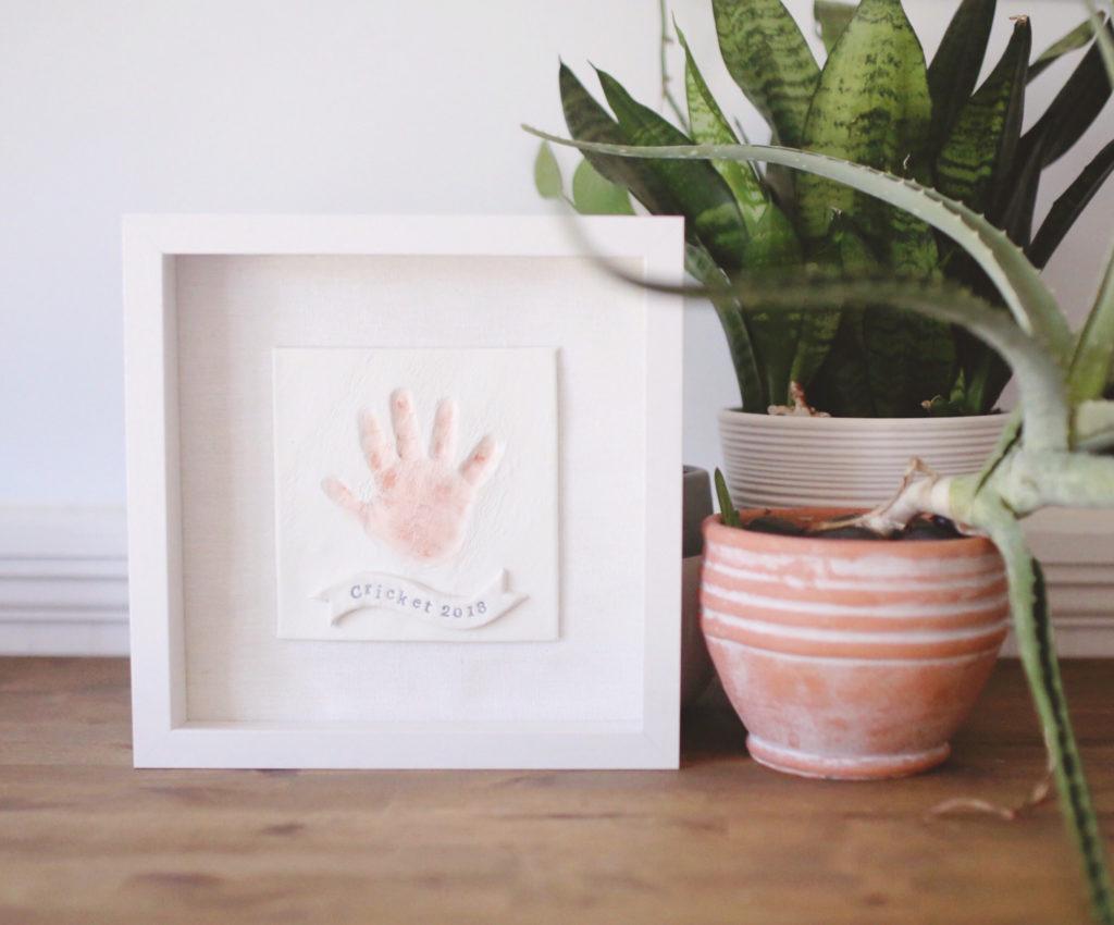 Clay Handprint