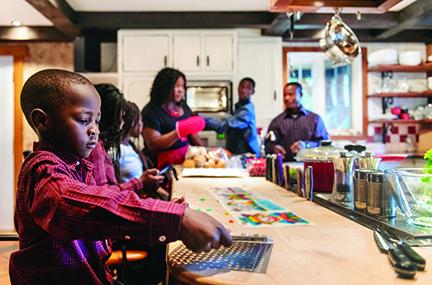 Kids Preparing Thanksgiving Dinner