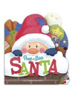 'Peek-a-Boo Santa'