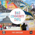 Community Days at the B&O