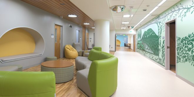 New Psychiatric Unit at the University of Maryland Children's Hospital Provides Kids and Teens a Therapeutic Space to Heal
