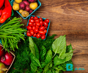 BCPL afterschool meals produce