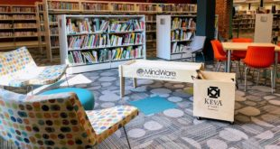 Reisterstown library updated lounge space