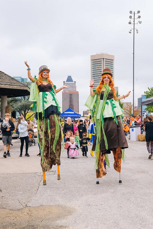 Stilts at Harbor Harvest 2017